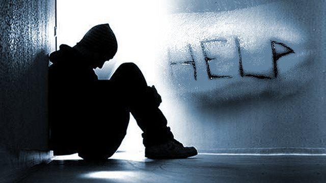 suicidally depressed